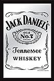 "Jack Daniels - XL Bar Mirror (Classic Old No. 7 Logo) (Size: 12"" x 16"")"
