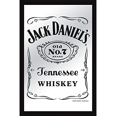 Jack Daniels - XL Bar Mirror (Classic Old No. 7 Logo) (Size: 12  x 16 )