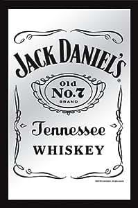Jack daniels xl bar mirror classic old no for Pochoir jack daniels