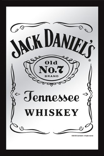 Jack Daniels Mirror Classic Logo product image