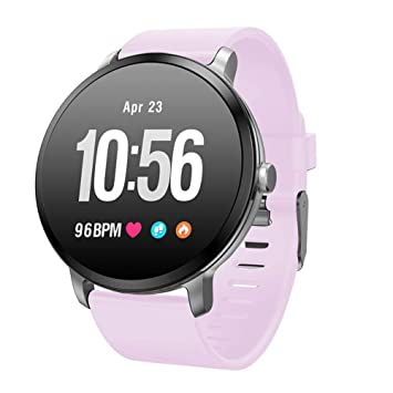 TLfyajJ Smartwatch Impermeable Reloj Fitness v11 Blood Pressure Pulsómetro Smart Watch Fitness Activity Tracker podómetro Reloj Deportivo para Mujer ...