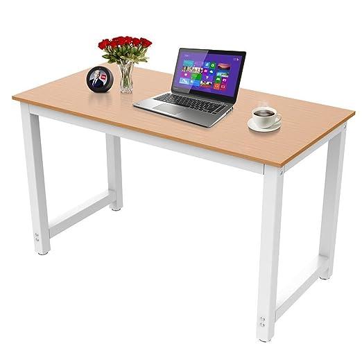 Yaheetech - Mesa de Ordenador, Mesa de Trabajo Grande para casa y ...