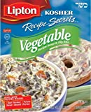 Lipton/Gefen Kosher Soups, Lipton Kosher Recipe Secrets Vegetable Soup, 2-Ounce (Pack of 12) by Lipton