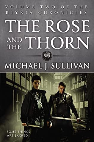 book cover of The Rose and the Thorn