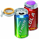 : Jokari Fizz-Keeper Can Pump and Pour, Assorted Colors,Pack of 3