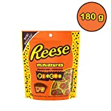 REESE Miniatures Stuffed with PIECES PEANUT BUTTER CUP Candy, 180g