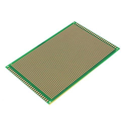 Prototipo di Carta PCB universale Esperimento Pannello Circuit Board 18 x 12cm