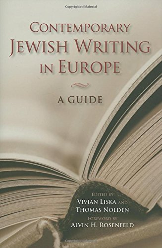 Read Online Contemporary Jewish Writing in Europe: A Guide (Jewish Literature and Culture) pdf epub