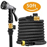 Expandable Garden Hose --Liwiner 50 FT Flexible & Lightweight Retractable Water Hose