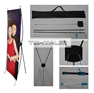 """Tektrum 24""""X63"""" Tripod X Banner Stand For Trade Show/Store Display"""