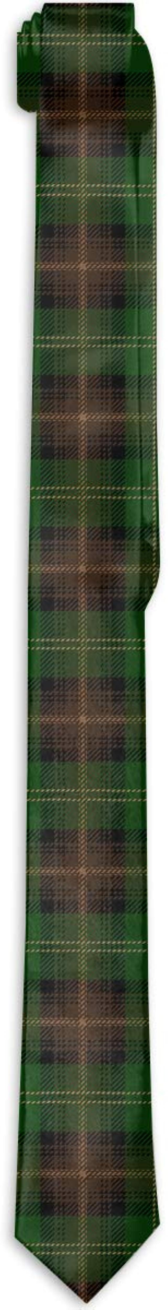 Willie Curea Corbata Verde Escocesa de Tartán Escocés para Hombres ...