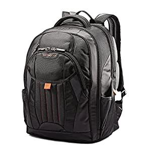 Samsonite Tectonic Large Backpack (One size, Black/Red)