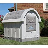 ASL Solutions Deluxe Insulated Dog Palace with Floor Heater For Sale