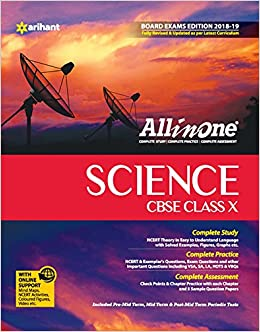 All In One Science - Class 10 (2018-19 Session): Amazon in: Arihant
