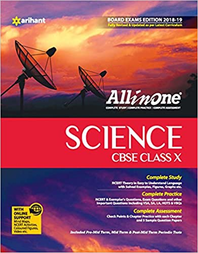 All In One Science - Class 10 (2018-19 Session) - by Arihant Experts