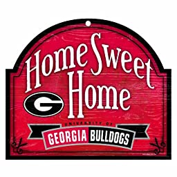 NCAA Georgia Bulldogs 10-by-11 Wood \
