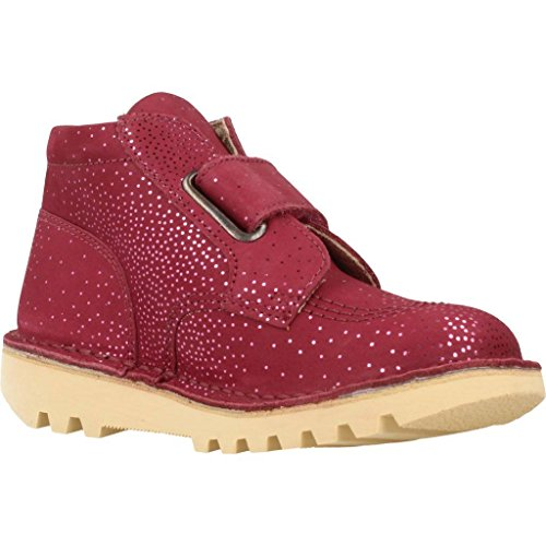 Kickers Metallic Boots Enfant Desert Bordeaux Mixte Neokrafty Rouge HgwZHFq