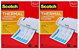 Scotch Thermal Laminating Pouches, 100-Pack, 8.9