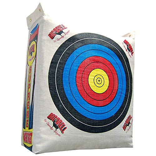 - Morrell Supreme Range Field Point Bag Archery Target - for Adult Bows with NASP Scoring Rings (Pack of 3)