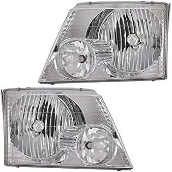 Amazon Com Headlights Depot Replacement For Ford Explorer Sport