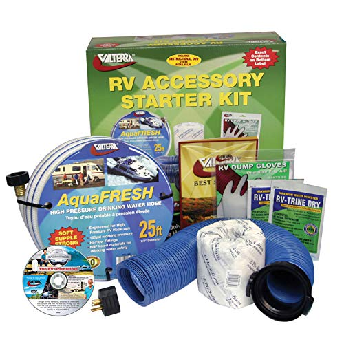 Valterra K88108DVD Deluxe RV Accessory Starter Kit with Pure Power and DVD