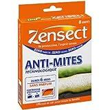 Zensect - Insecticide - Anti-Mites Technologique - 8 Unités - Lot de 2