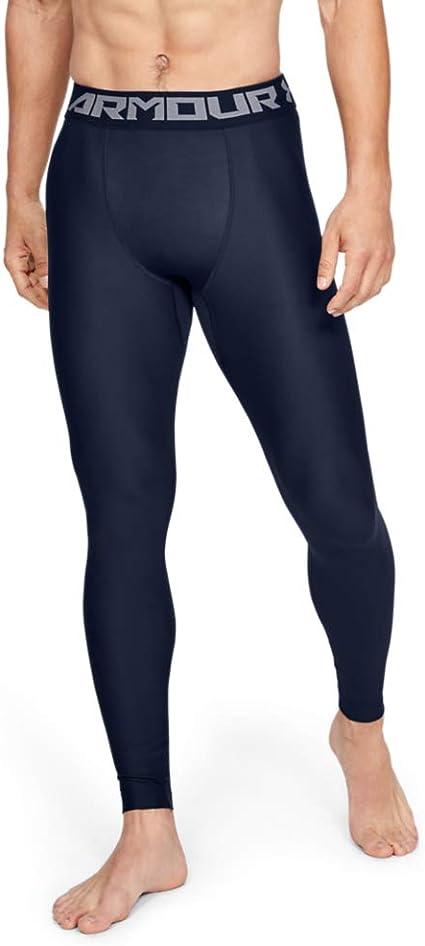 Under Armour Homme perpétuel moitié Leggings Gym Tight Bleu Marine 1306382 574