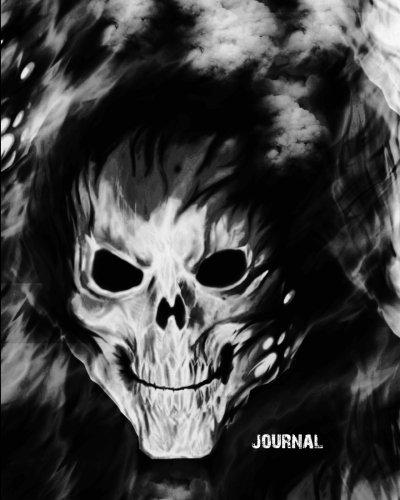 """Journal: Skull Ghost Demon  Journal Wide Ruled College Lined Composition Notebook For 132 Pages of 8""""x10"""" Lined Paper Journal Volume 7 (Haunted Ghost Skull Notebook Journal For Man And Boys Series) PDF"""