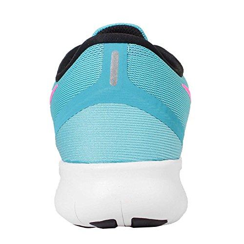 Nike Vrouwen Gratis Rn Loopschoenen (5 B (m) Ons, Blauw)