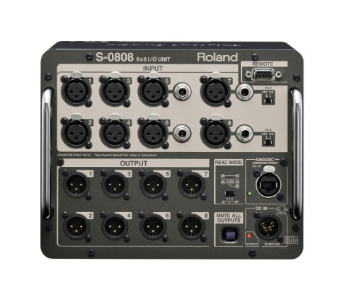 Roland S-0808 | Digital Snake System 8x8 Input Output Unit by Roland