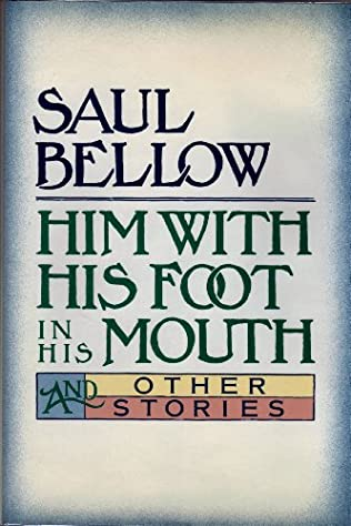 book cover of Him With His Foot in His Mouth