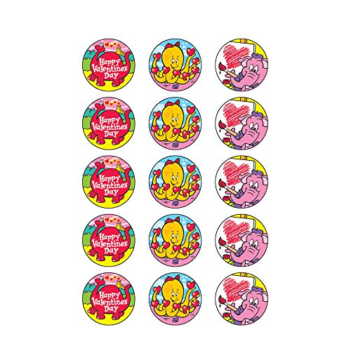 Trend Enterprises Valentine's Day Stinky Stickers (T-83406) Photo #2