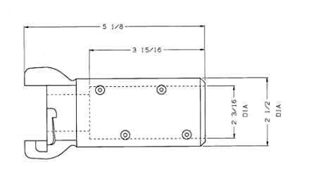 Dixon ASB125 Aluminum Sand Blast Air Hose Fitting Quick Coupling 1-1//4 Hose ID x 2-5//32 Hose OD