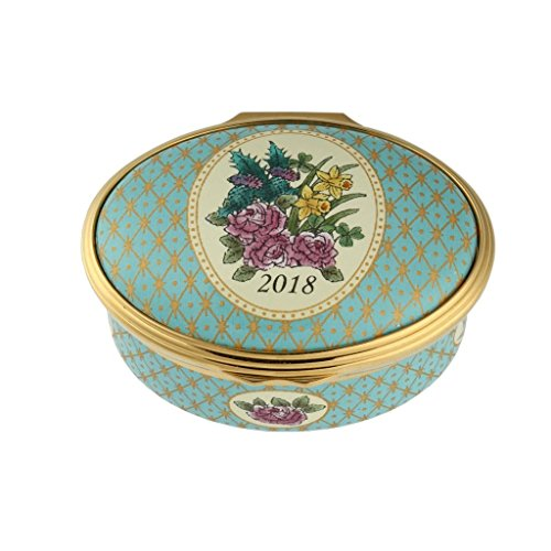 Halcyon Days 2018 Year Box Enamel - Boxes Days Halcyon