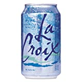 LaCroix Sparkling Water, Pure, 12oz Can, 24/Carton