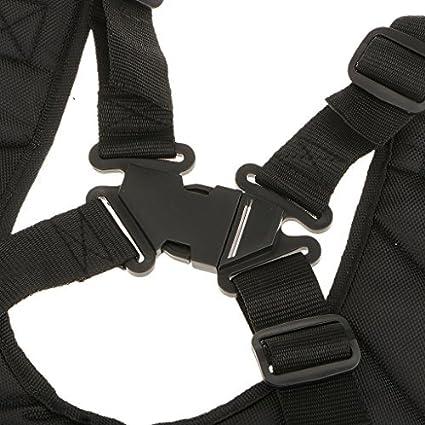Arnés de doble bandolera hombro acolchada boutonnage seguridad ...