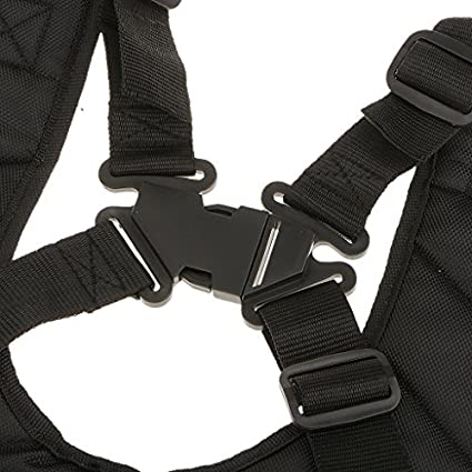 Arnés de doble bandolera hombro acolchada boutonnage seguridad para desbrozadora cortacésped Stihl Husqvarna Echo