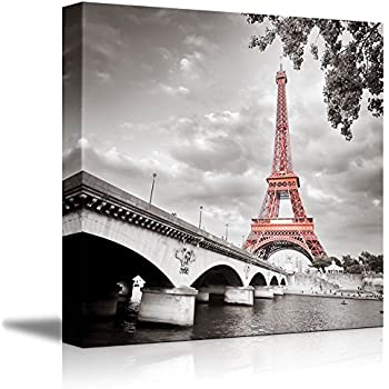 This Item Wall26 Canvas Prints Wall Art Eiffel Tower In Paris France Modern Wall Decor Home Decoration Stretched Gallery Canvas Wrap Giclee Print