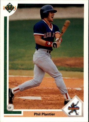 1991 Upper Deck Baseball Rookie Card #2 Phil Plantier Near ()