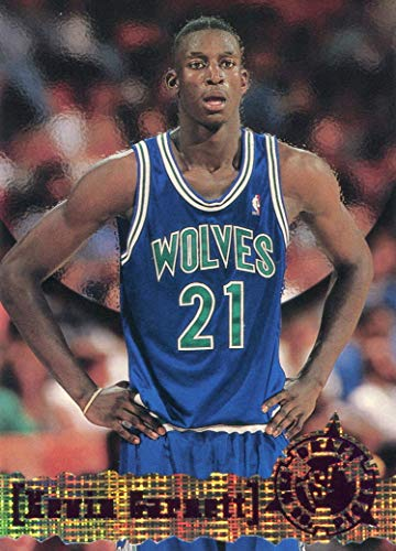 Draft Garnett Kevin - Kevin Garnett 1996 Topps Draft Picks Rookie Card