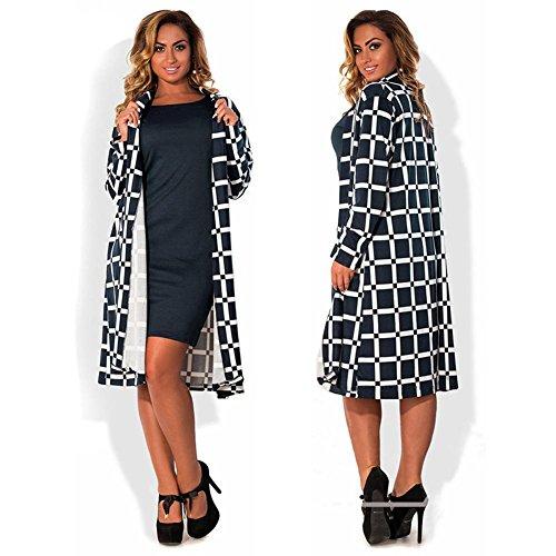 Shirts Outwear Gabardine et Plaid Shirts Vent Femme 5XL Jacket Cardigan Sweat Manteaux Fashion Blousons Sweat Veste UEB Coupe Oq5wBZnztx