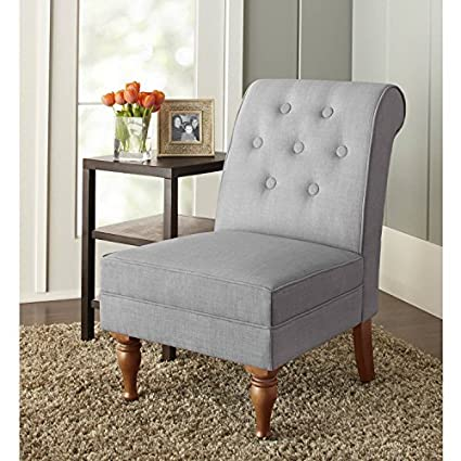 Amazoncom Better Home And Gardens New Colette Tufted Accent Chair