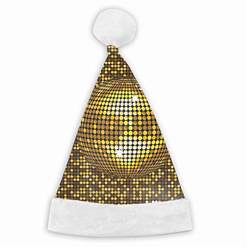 Kids Adults Christmas Hat Disco Ball Santa Claus Reindeer Snowman Xmas Gifts Cap ()