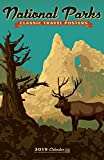 National Parks Posters Deluxe 2019 Wall Calendar