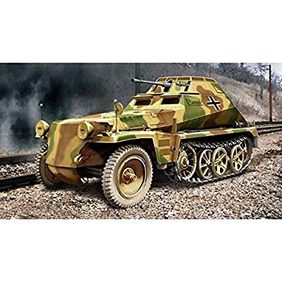 ACE German ARMOURED MUNITIONS CARRIER SD.KFZ.250/9 1/72 72247: Toys & Games
