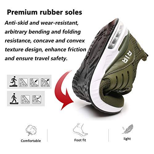 Laufschuhe Herren Damen Atmungsaktive Stoßdämpfende Sportschuhe Freizeitschuhe Outdoor Fitness Joggen Sneakers 34-46EU