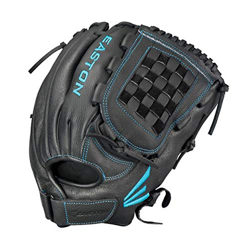 EASTON BLACK PEARL Fastpitch Softball Glove | 2020 | Right-Hand Throw | Female Athlete Design | 12.5"