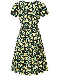 96cf67ce36 Amazon.com  V-Neck - Casual   Dresses  Clothing