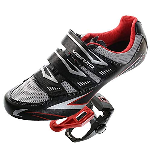 Entry Side Cage (Venzo Road Bike For Shimano SPD SL Look Cycling Bicycle Shoes & Pedals 43)