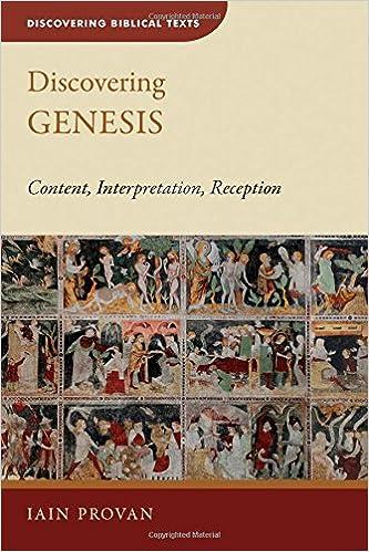 Google Hörbücher herunterladen Discovering Genesis: Content, Interpretation, Reception (Discovering Biblical Texts (DBT)) auf Deutsch PDF PDB CHM